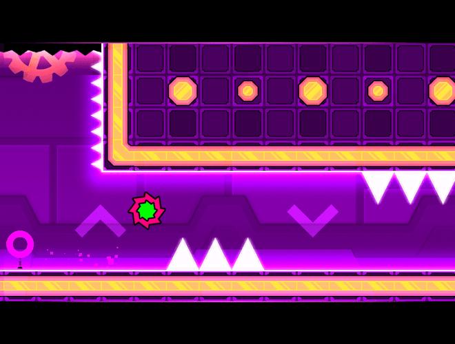 Play Geometry Dash Meltdown on PC 8