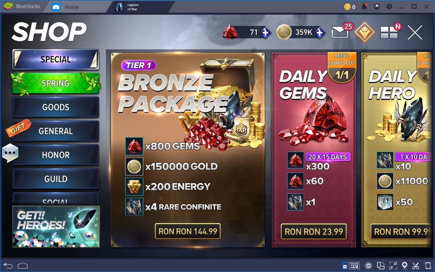 Aion: Legions of War – Guide to Currency and Gear | BliueStacks 4