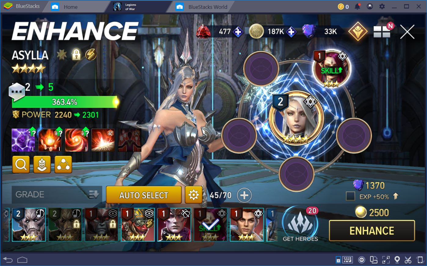 Aion: Legions of War – Guide to Hero Progression and Upgrades