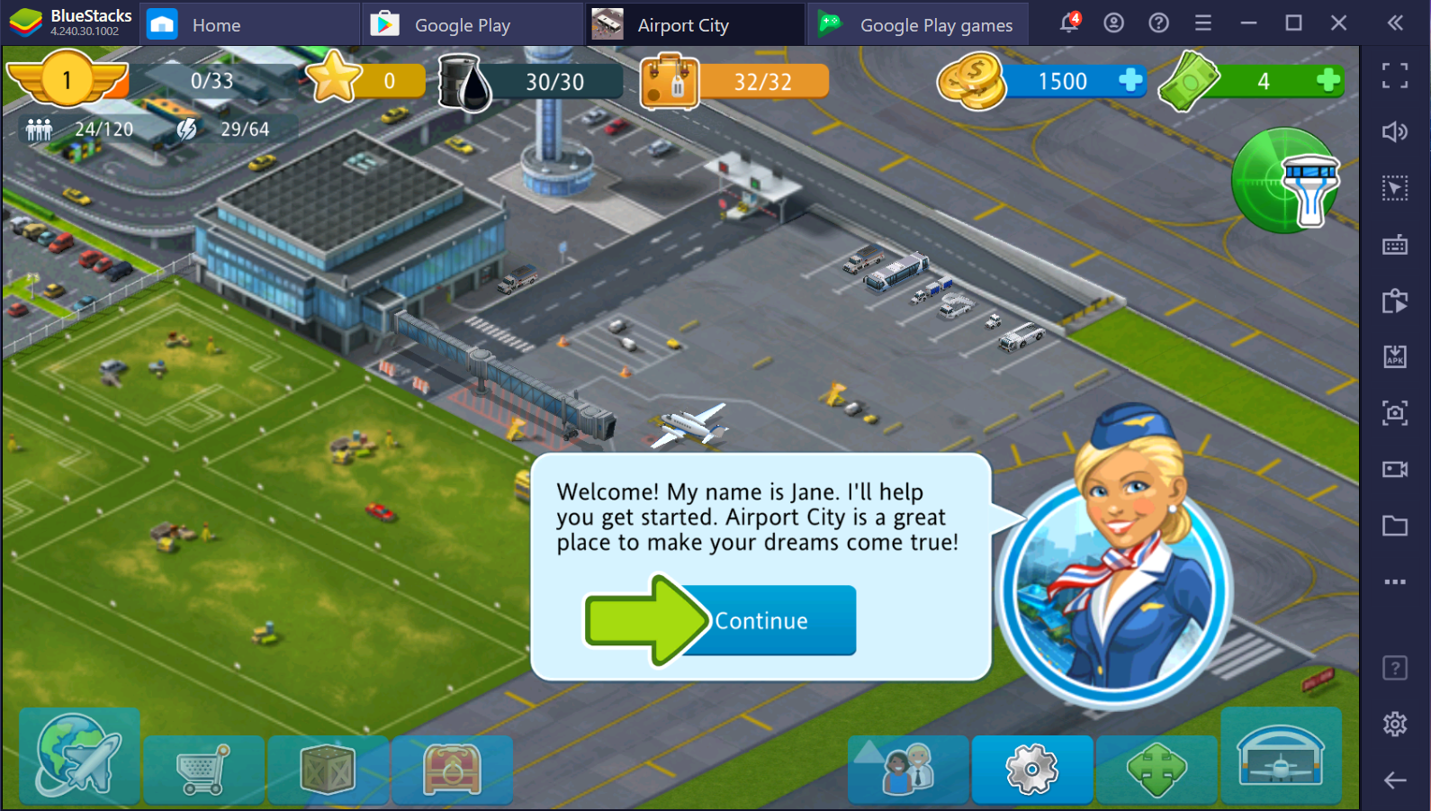 Airport City: Make Your Own Dream World A Reality
