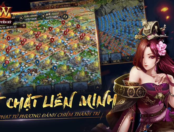 Chơi Row Tam Quốc Chí Truyền Kỳ VNG on PC 13