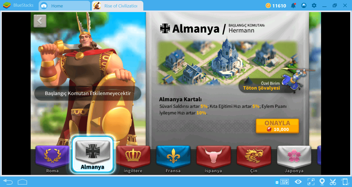 Rise of Kingdoms Ulus ve Savaş Rehberi