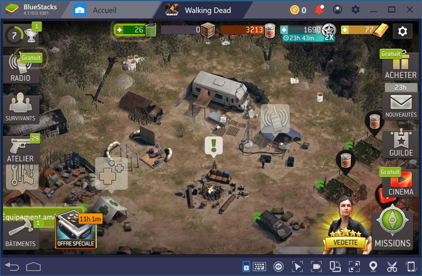 Améliorez-vous dans The Walking Dead No Man's Land avec BlueStacks