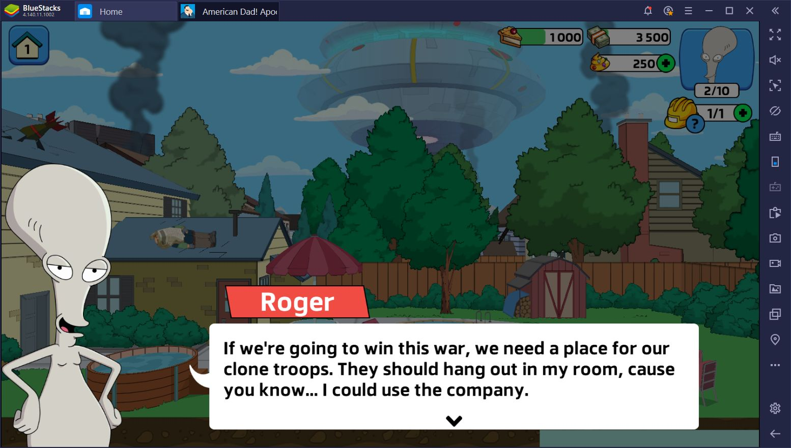 How to Win at American Dad! Apocalypse Soon on PC Using BlueStacks