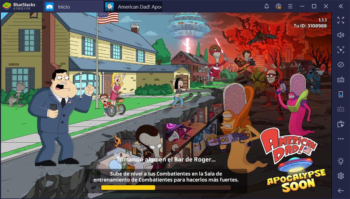 Cómo Ganar en American Dad! Apocalypse Soon en PC Usando BlueStacks