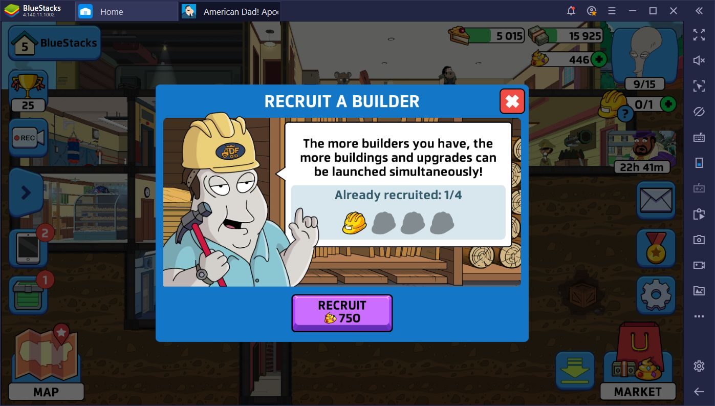 How to Progress and Farm Resources in American Dad! Apocalypse Soon
