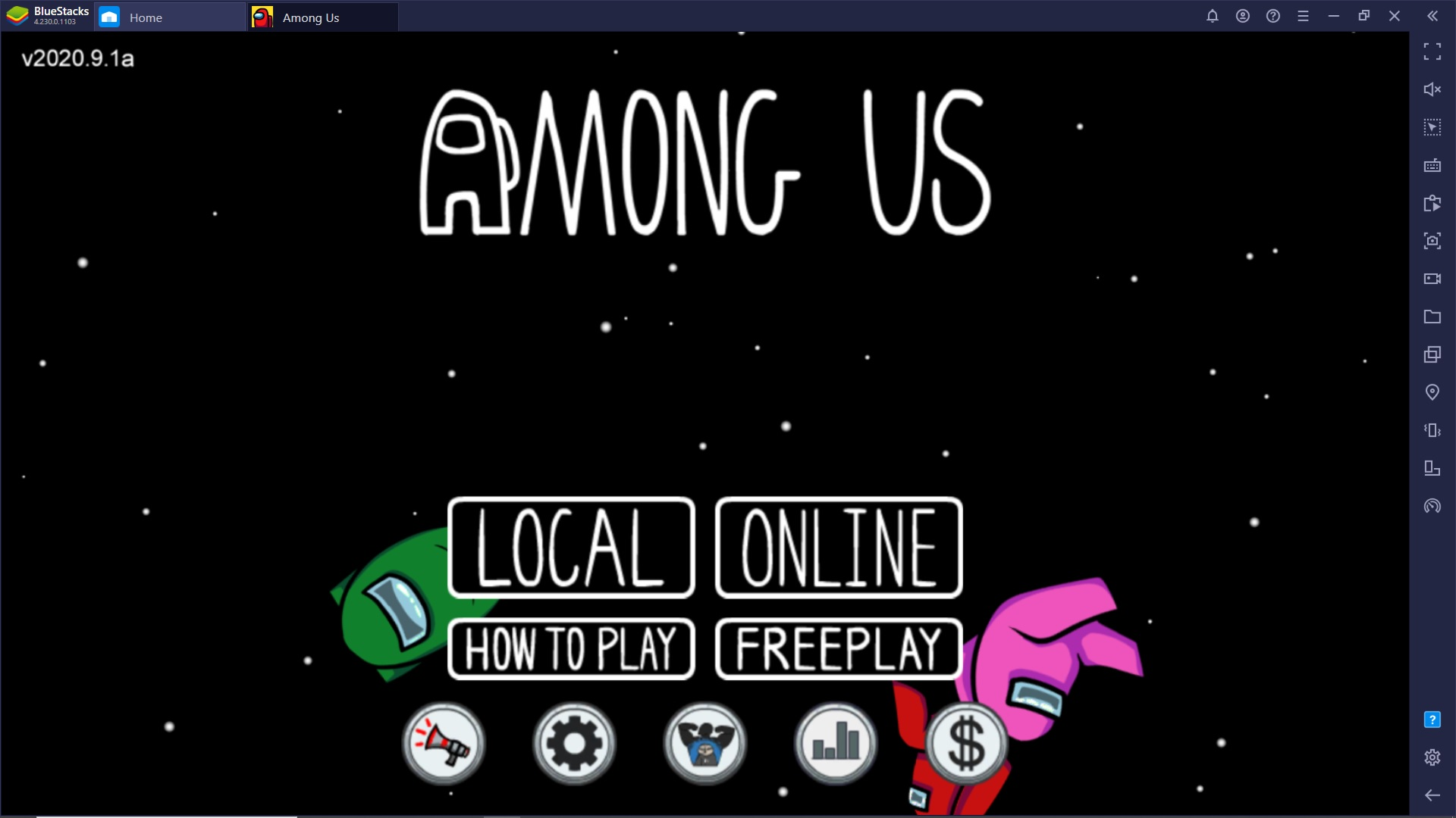 Among Us è disponibile gratuitamente con BlueStacks