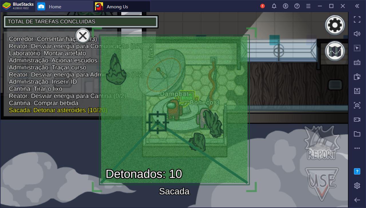 Aprenda a jogar melhor no mapa Mira HQ do Among Us