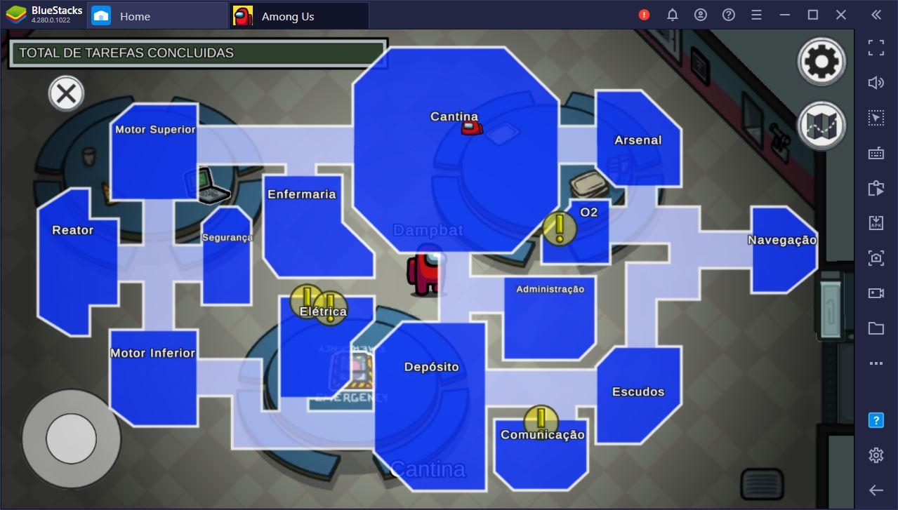 Destrinchamos o mapa Skeld do Among Us