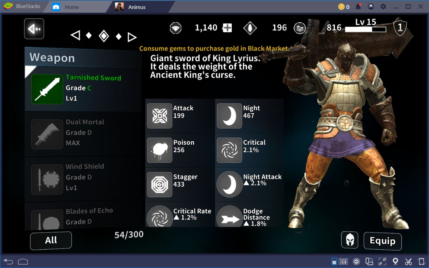 Animus: Guide to Farming and Stats | BlueStacks 4