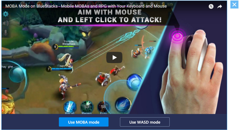 AOV Mode Select