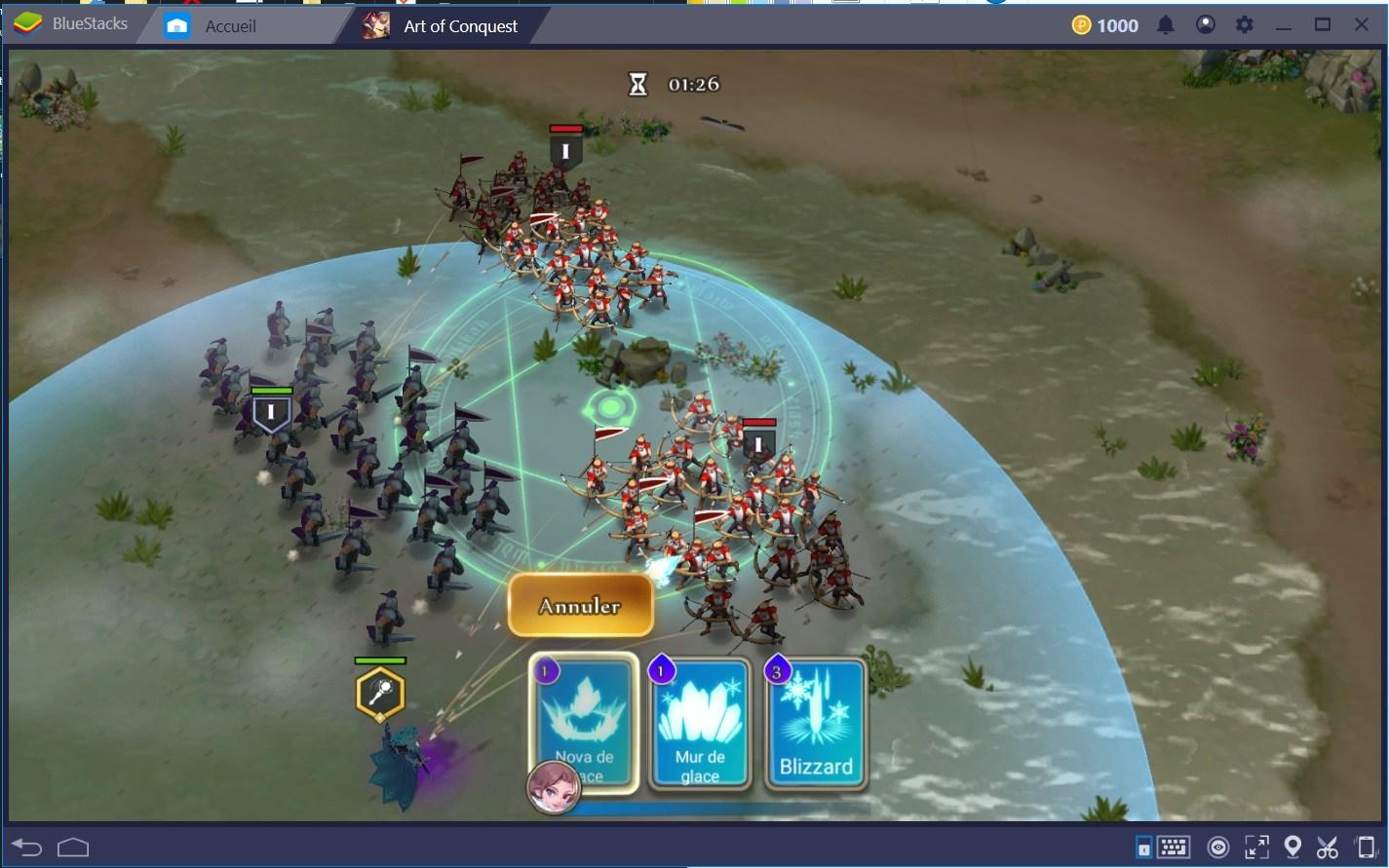 Art of Conquest: Conseils et Astuces