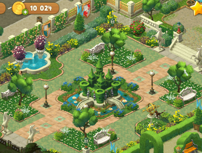เล่น Gardenscapes on PC 8