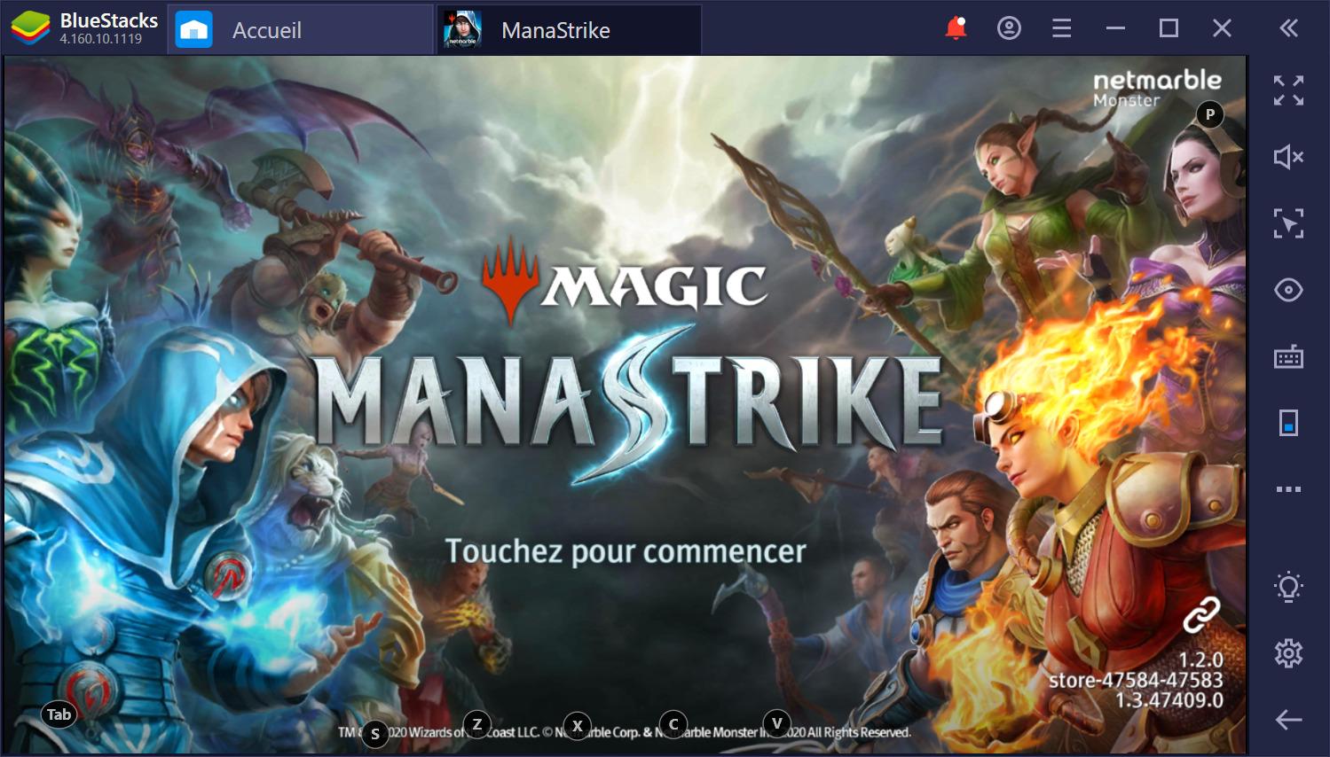 Aperçu de Magic : ManaStrike sur PC