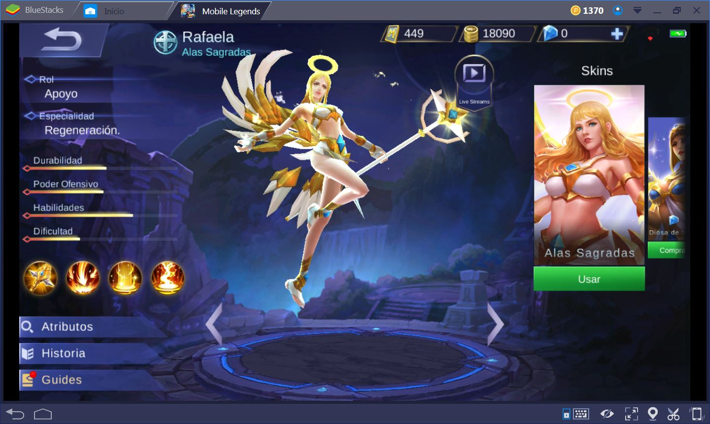 Mobile Legends Apoyo Es