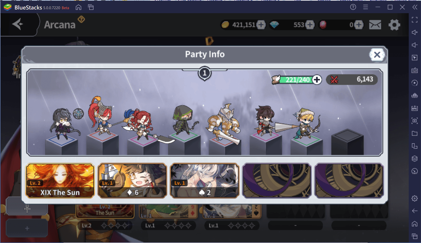 Arcana Tactics: Beginners Guide and Tier List for Arcanas