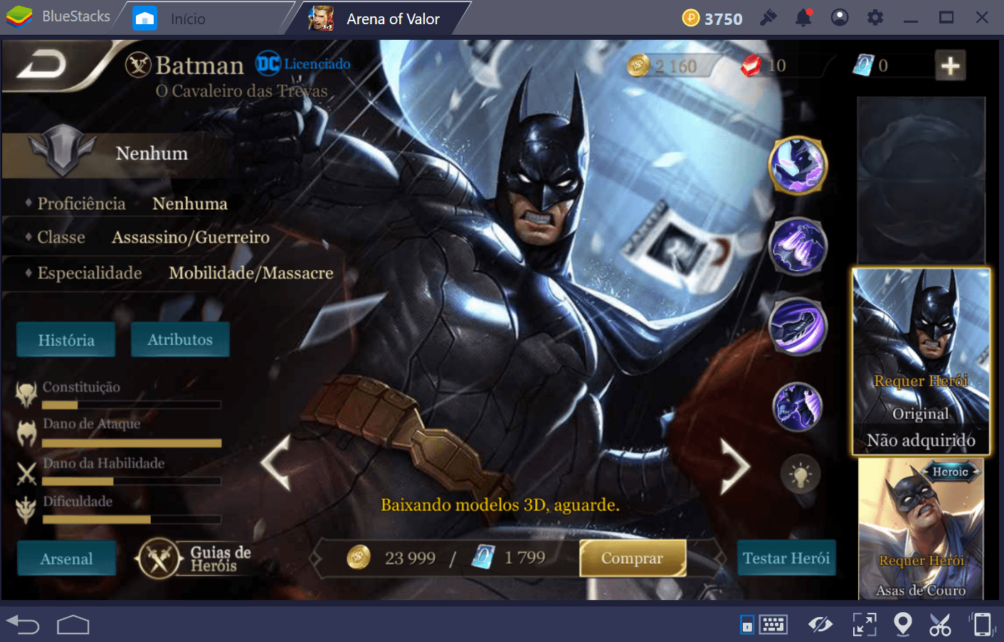 Guia de Assassinos em Arena of Valor