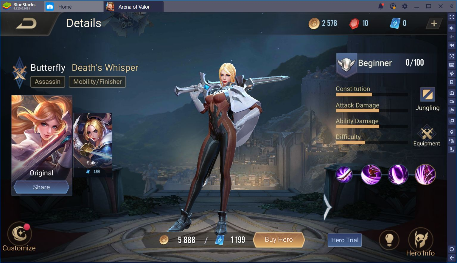 The Different Character Types in Arena of Valor