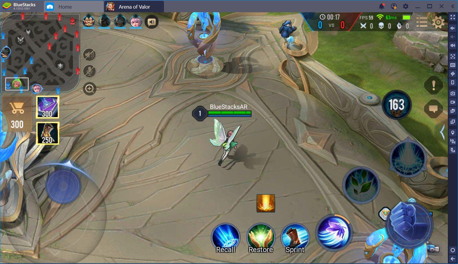 Arena of Valor on BlueStacks: Dominate Using the Keymapping Tool