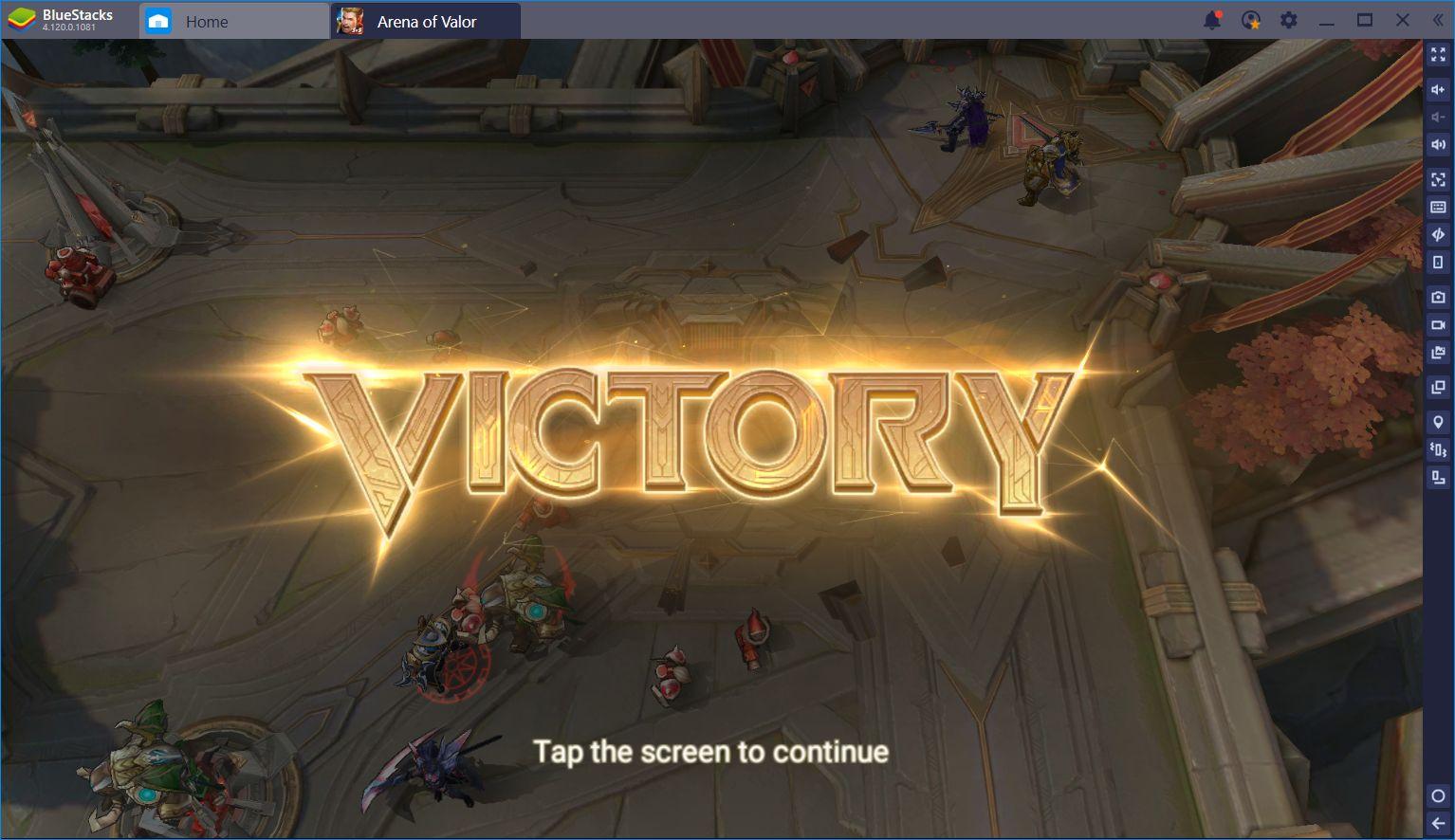 Arena of Valor: Intense Mobile MOBA Fun on BlueStacks