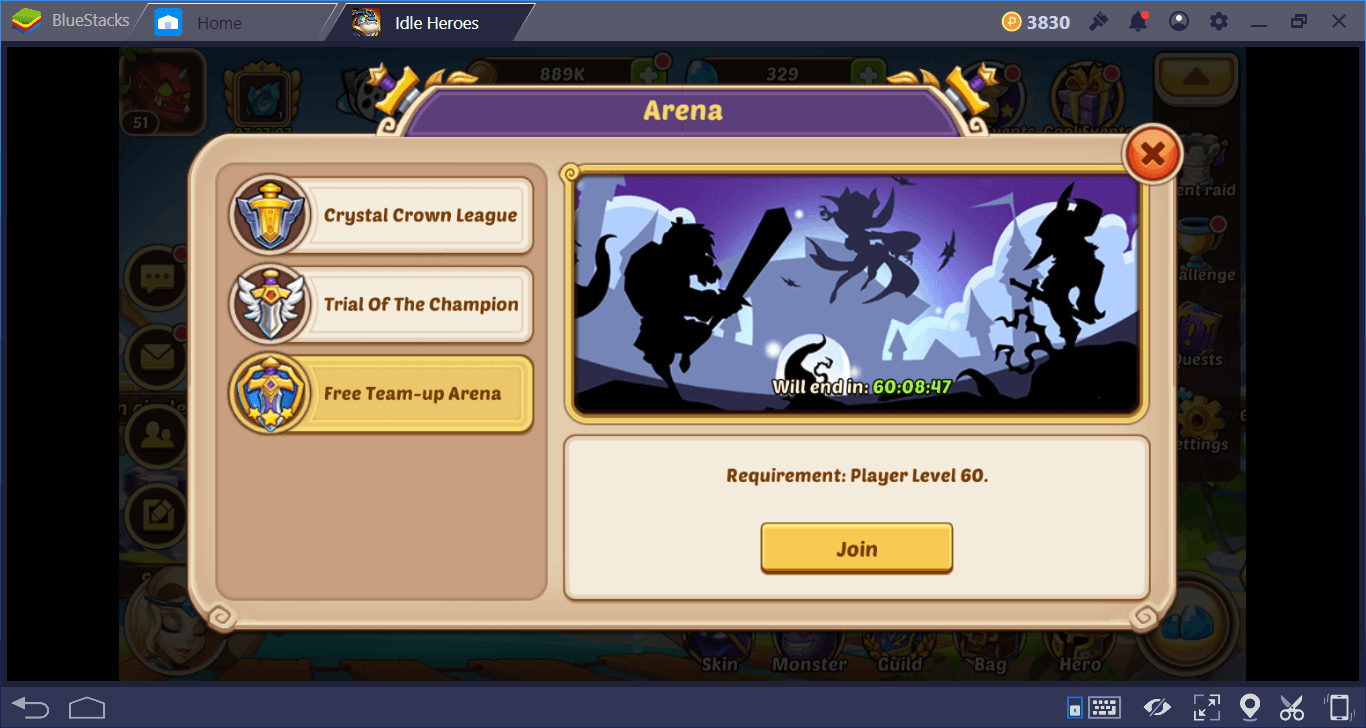 Making the Best of Idle Heroes With BlueStacks Multi-Instance on PC
