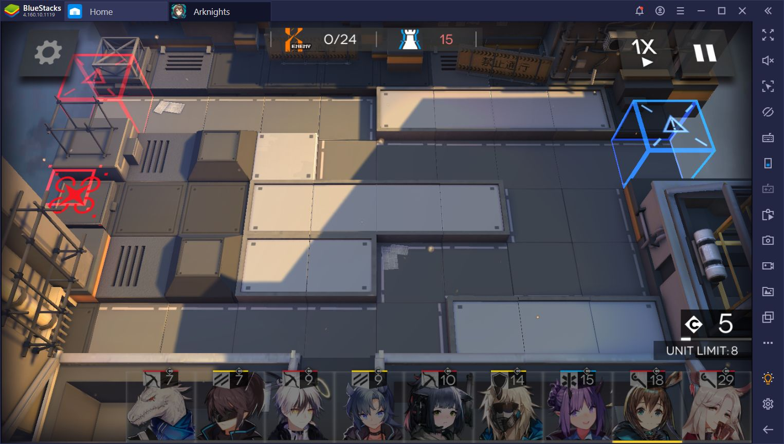 Arknights on PC - How to Defend Your Lanes With BlueStacks