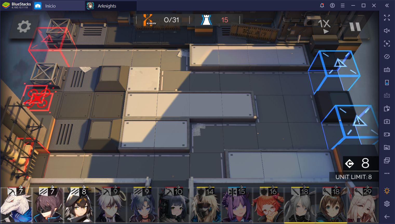 Arknights en PC - Cómo Defender tus Carriles con BlueStacks