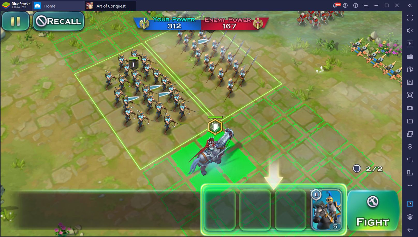 How to Play Art of Conquest on PC with BlueStacks