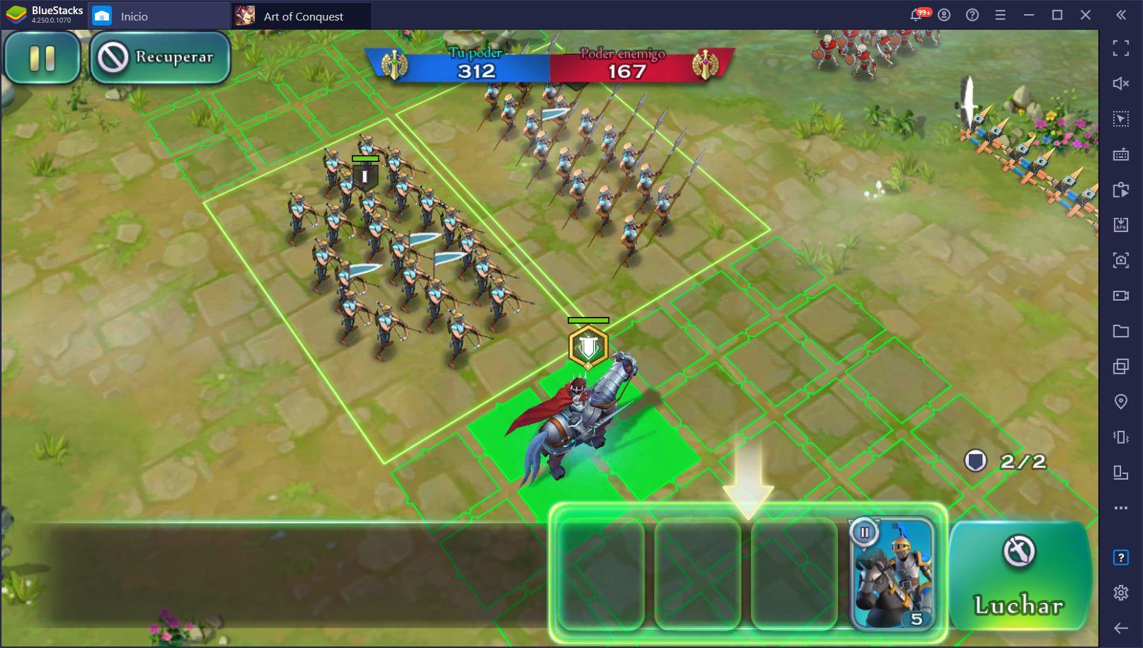Cómo Jugar Art of Conquest en PC con BlueStacks