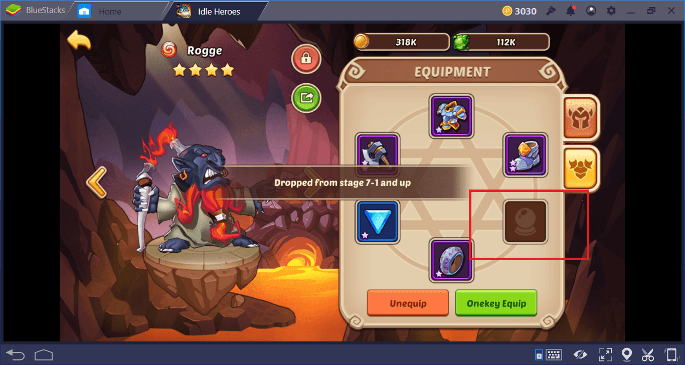 Idle Heroes Equipment, Artifacts, and Treasures Guide