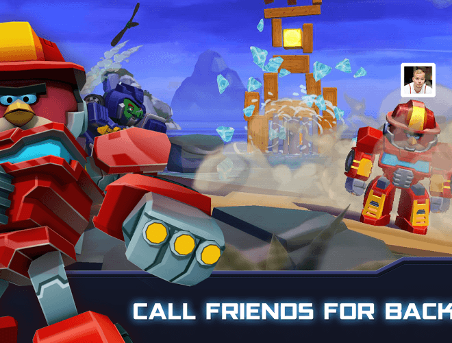 Play Angry Birds Transformers on PC 13