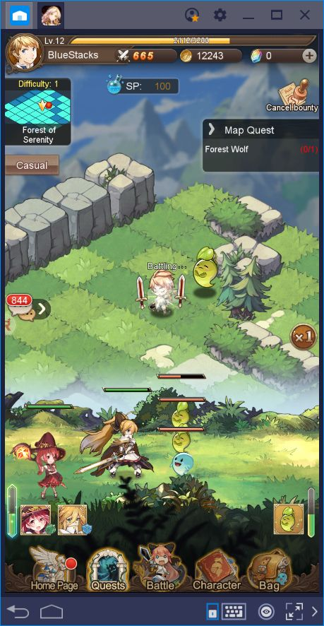 Aurora Legend—An Adventure Game With a Casual Spin | BlueStacks 4