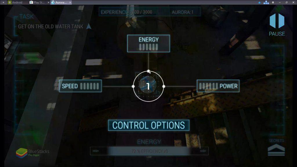 Aurora: Quarantine - Upgrade Robot's Abilities