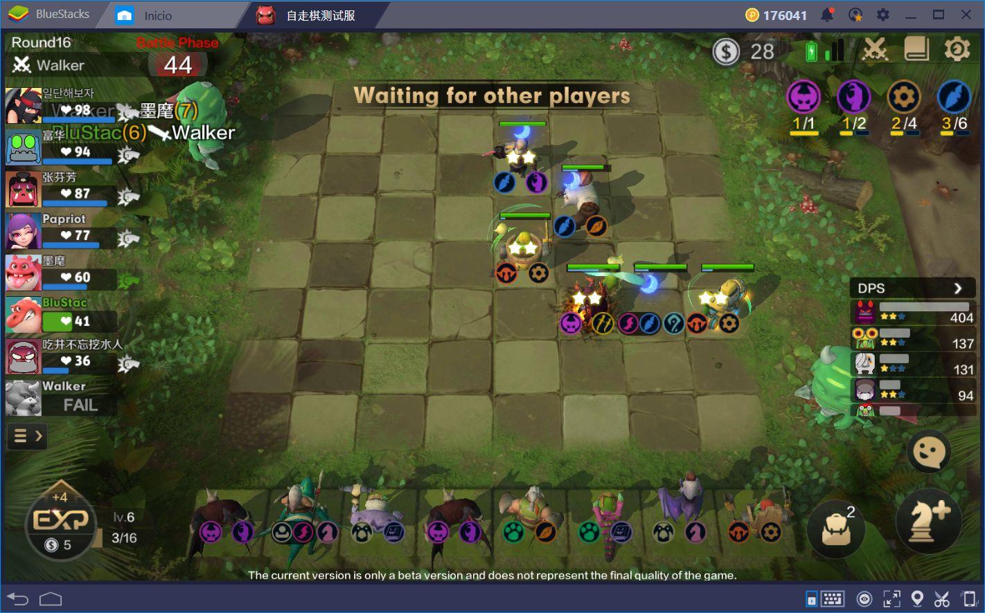 El Ritmo de Batalla en Auto Chess