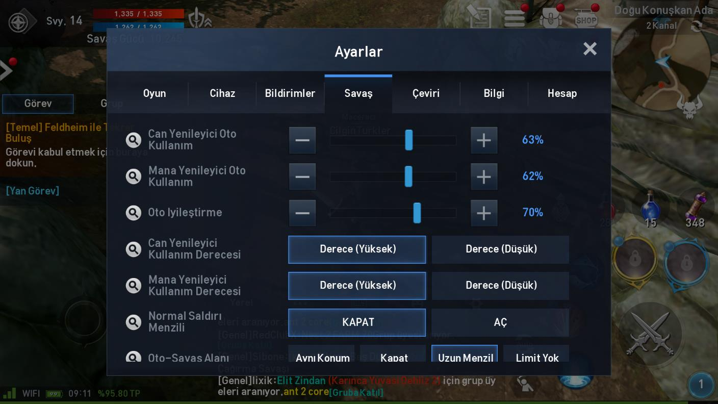 Bluestacks Auto Settings Tr