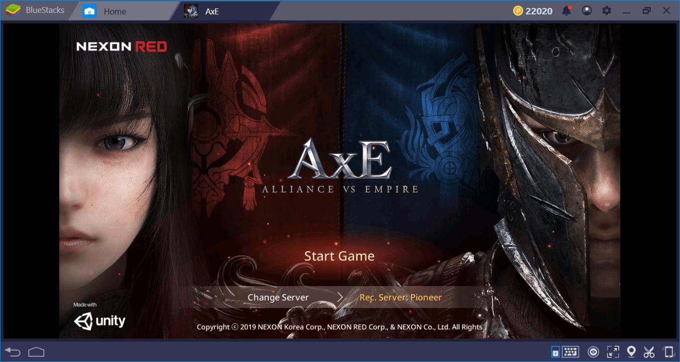 Review Geral de AxE: Alliance vs Empire.