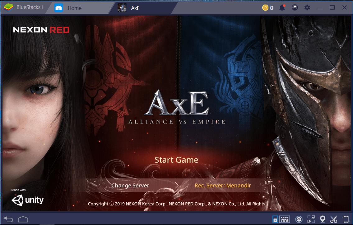 AxE Alliance vs Empire: BlueStacks Kurulumu ve Konfigürasyon Ayarları Rehberi