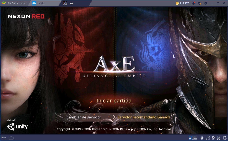 AxE: Alliance vs Empire—Descubre el Nuevo MMORPG de Nexon