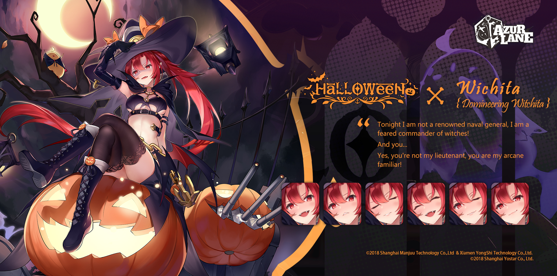 Azur Lane 'Halloween Chaos Rerun' Event Bringing Lots of New Items and Goodies