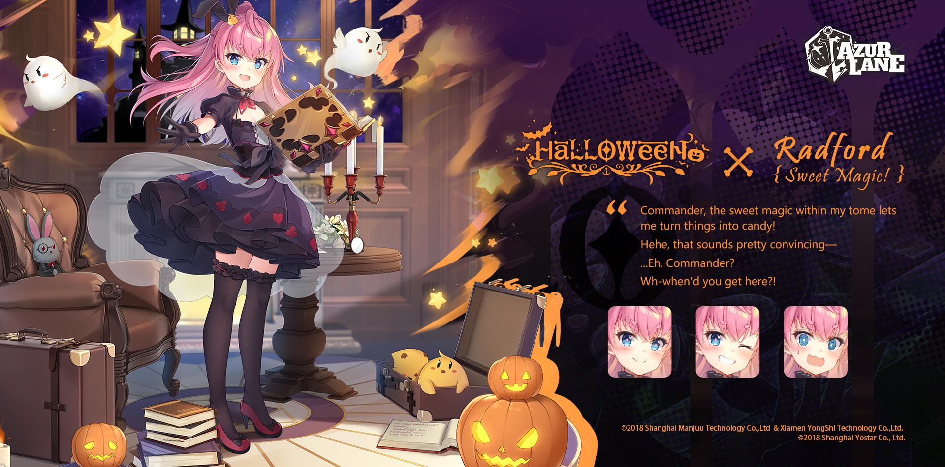 El 'Halloween Chaos Rerun' de Azur Lane Trae Nuevos Disfraces y Cosas Interesantes