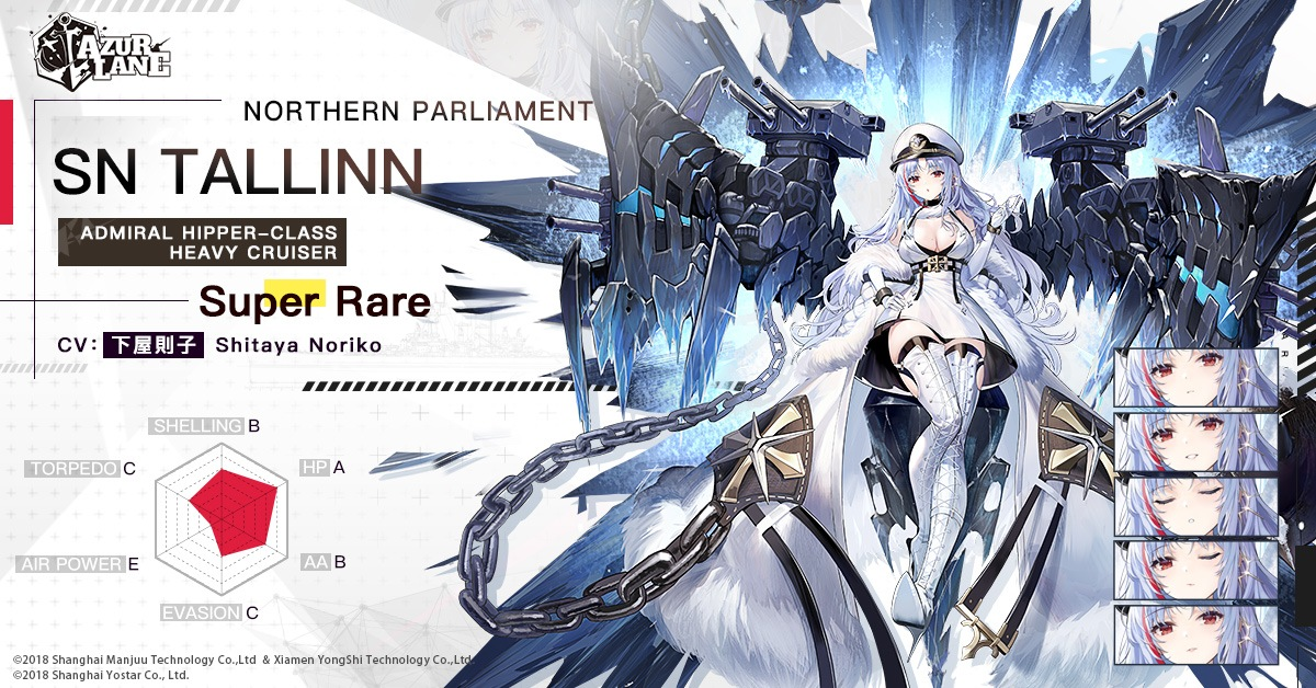 Azur Lane – Khorovod of Dawn's Rime, Northern Parliament Phase II, and more!