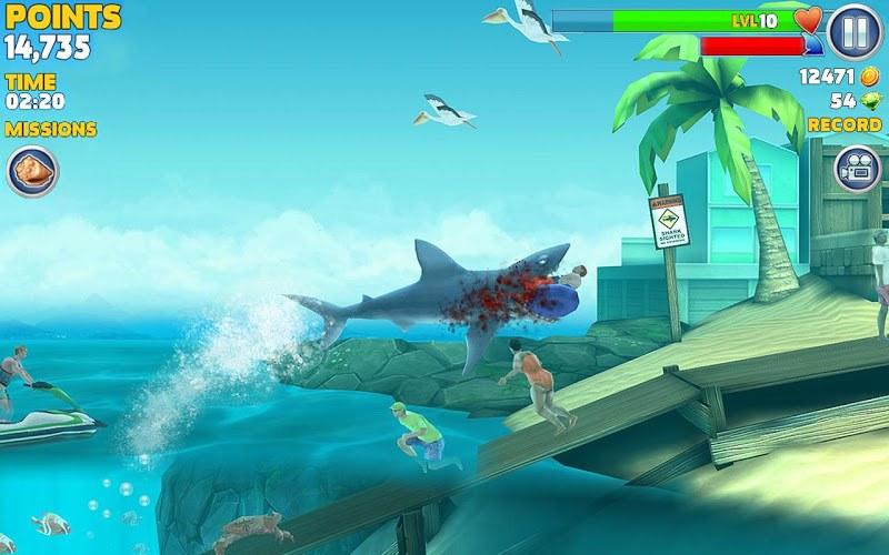 Игра акула на пк скачать