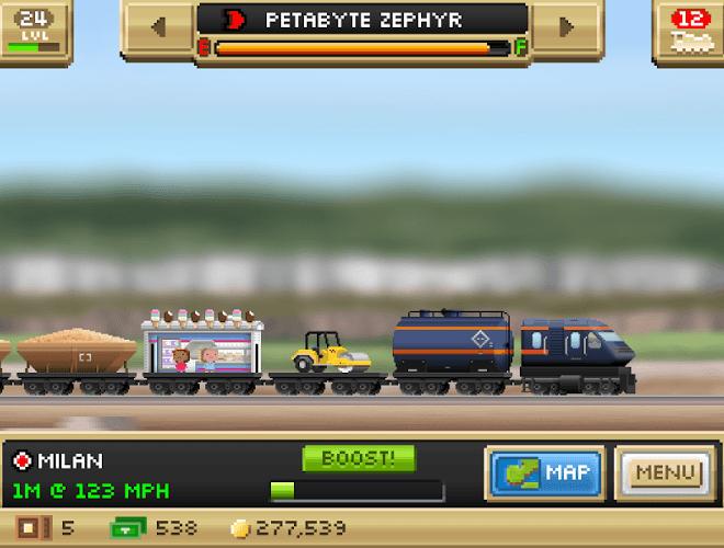 Играй Pocket Trains На ПК 15