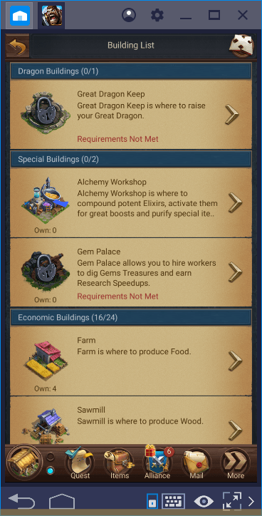 Blaze of Battle Buildings Guide: Improving Your Kingdom