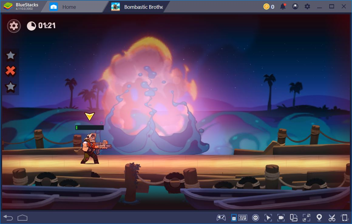 Bombastic Brothers: How to Play It on BlueStacks