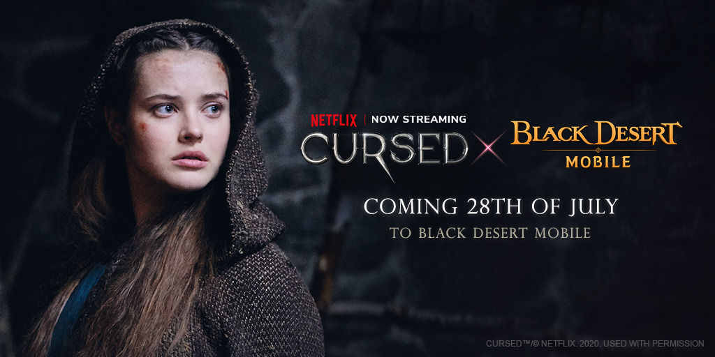 Black Desert Mobile X Cursed – Pearl Abyss Joins Up With Netflix in a Crossover Event