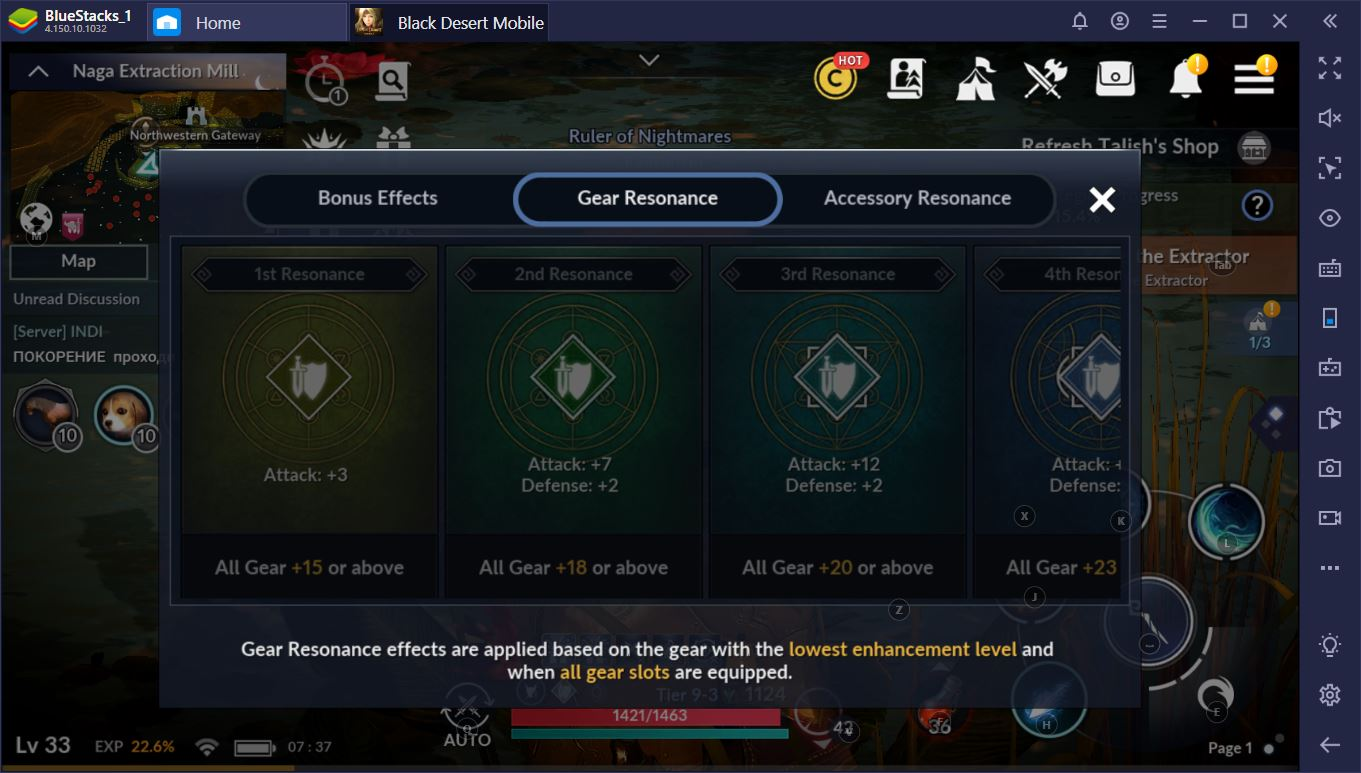 Black Desert Mobile on PC: Guide to Armor, Accessories, and Stats