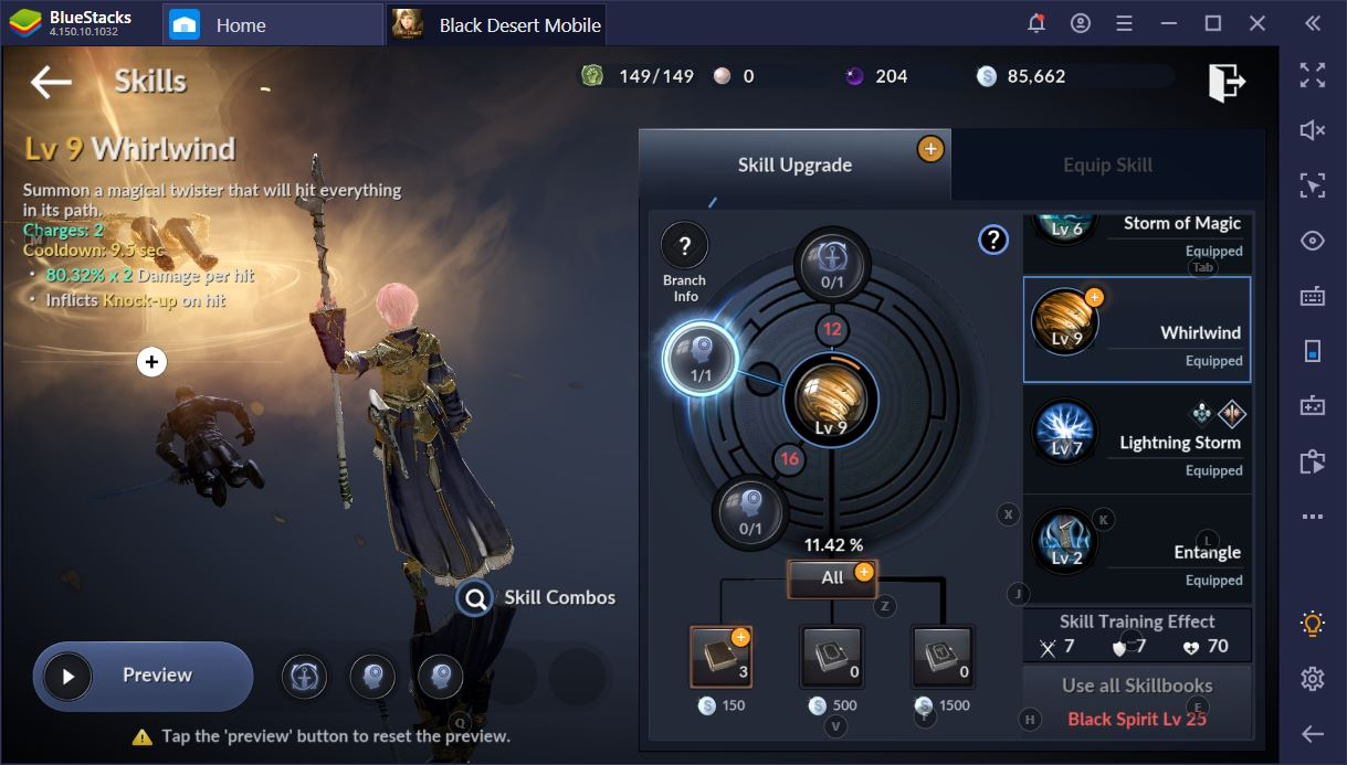 Black Desert Mobile on PC: The Beginner's Combat Guide