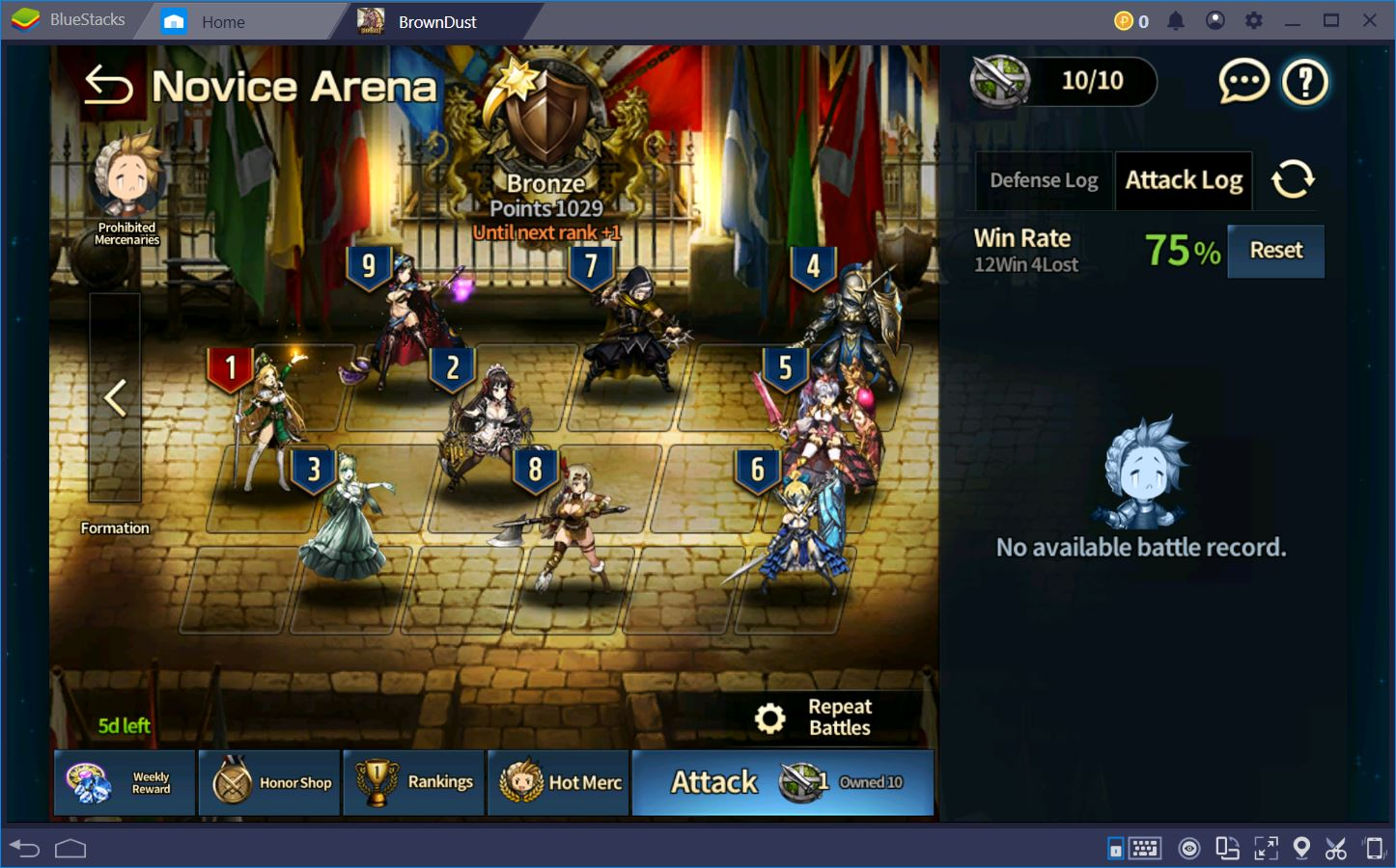 Brown Dust: Advanced Tips and Tricks for Arena Battles