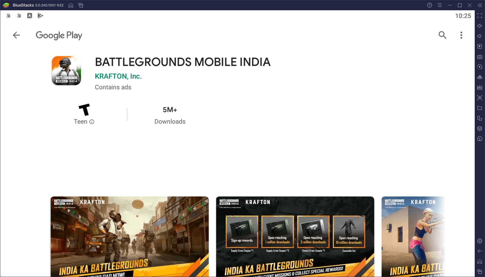 Battlegrounds Mobile India on PC Available Exclusively on BlueStacks 5